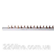 ElectroHouse Шина з'єднувальна (гребінка) PIN 3P 63A 1.4 * 7