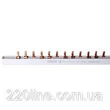 ElectroHouse Шина з'єднувальна (гребінка) PIN 3P 100A 1.4 * 7