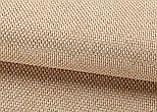 Ткань для штор Рогожка ореховая солнцезащитная, затемняющая, Турция, фото 3