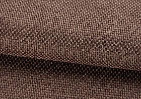 Ткань для штор Рогожка ореховая солнцезащитная, затемняющая, Турция