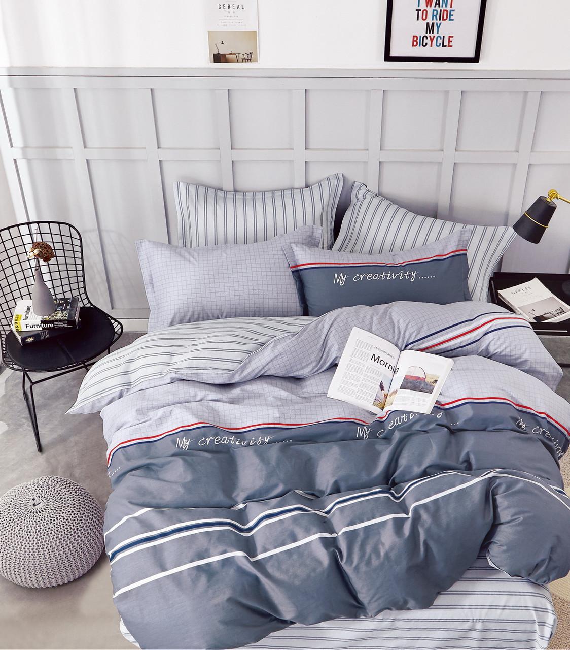 Комплект постельного белья Bella Villa Сатин 200 x 220 B-0232 Eu