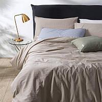 Комплект постельного белья Bella Villa WASHED COTTON 200 x 220 W-0001 Eu/light coffee, фото 1