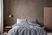 Комплект постельного белья Bella Villa WASHED COTTON 200 x 220 W-0002 Eu/grey blue