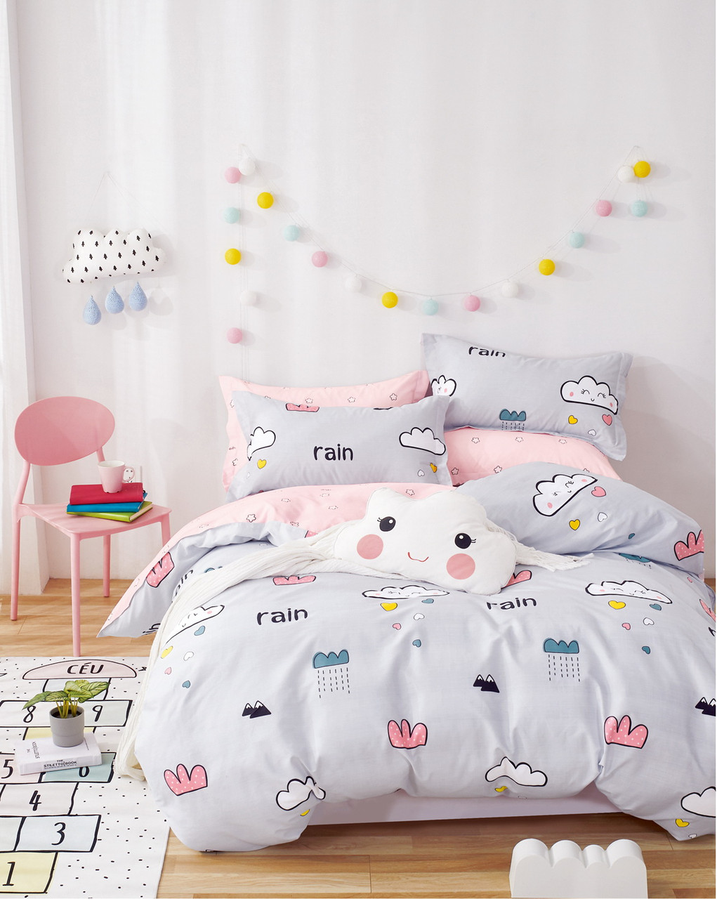 Комплект постельного белья Bella Villa Сатин 160х220 B-0253 Sn