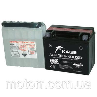 Аккумулятор KAGE YTX12-BS