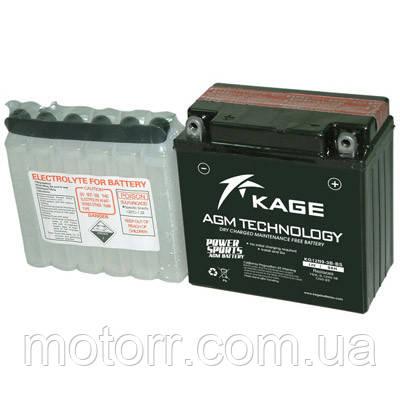 Аккумулятор KAGE KG12N9-3B-BS
