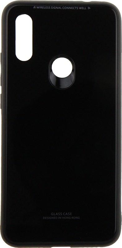 Чехол-накладка TOTO Pure Glass Case Xiaomi Redmi 7 Black #I/S