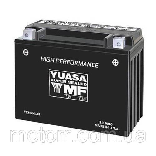 Акумулятор YUASA YTX24HL-BS