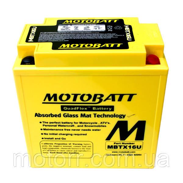 Аккумулятор Motobatt MBTX16U