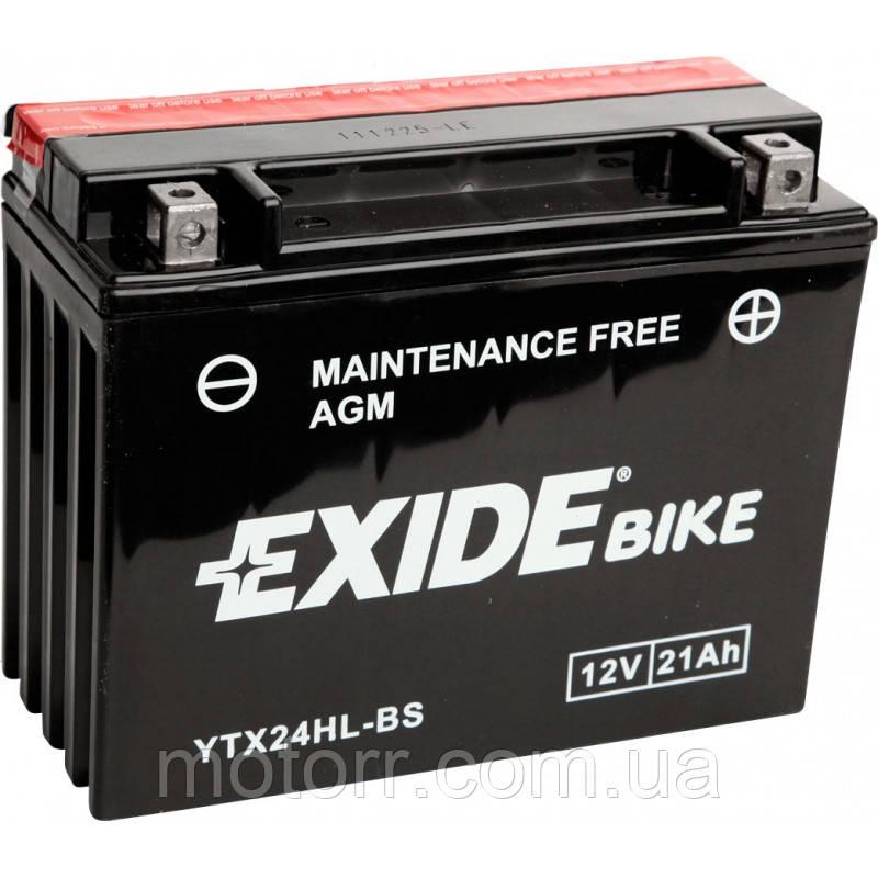 Аккумулятор Exide YTX24HL-BS