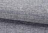 Тканина для штор Рогожка шоколадна сонцезахисна, затемнююча, Туреччина, фото 5