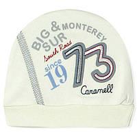 Шапка для новорожденного мальчика Caramell Caramell (0-3 мес)