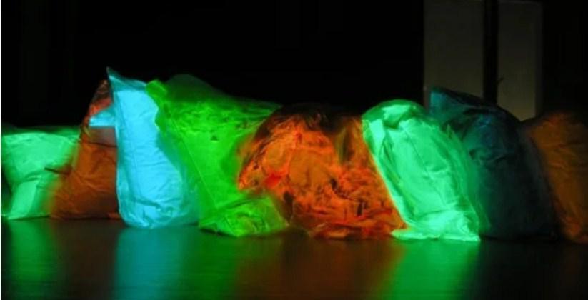 Комплект из 11 красителей цветного Люминофора СВЕТЯЩЕГОСЯ порошка люминесцента ТМ Просто и Легко 100 г