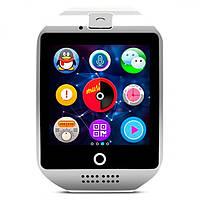 Смарт часы UWatch Q18 умные часы телефон NFC smart watch камера White