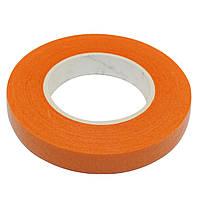 Оранжевая флористическая тейп-лента 12 мм 1 шт