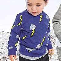 Свитшот для мальчика Молния Little Maven (18 мес)