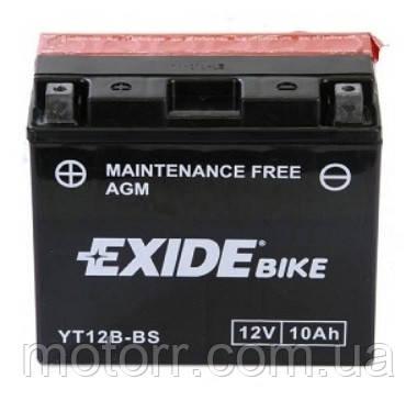 Акумулятор Exide ET12B-BS