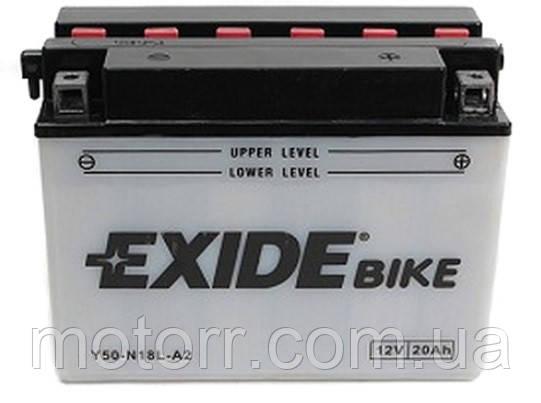 Акумулятор Exide E50-N18L-A