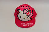 Снепбэк 3d hello kitty детская бейсболка кепка панамка шапка головные уборы, фото 2