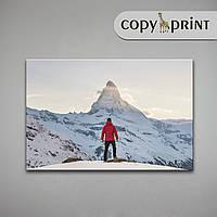 Картина на холсте: Один в горах, фото 1