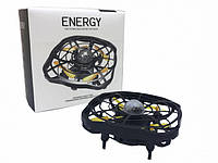 "Квадрокоптер мини ""Летающая тарелка"" ручной дрон UFO с Led подсветкой YL102"
