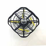"Квадрокоптер мини ""Летающая тарелка"" ручной дрон UFO с Led подсветкой YL102, фото 3"
