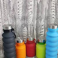 Складная силиконовая бутылка LUX Bottle. Для спорта, фото 1