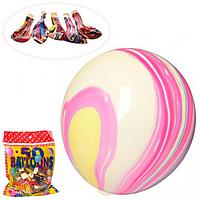 ШАРИКИ НАДУВНЫЕ MK 3394-1 12 дюймов, рисунок, 50 штук в кульке.