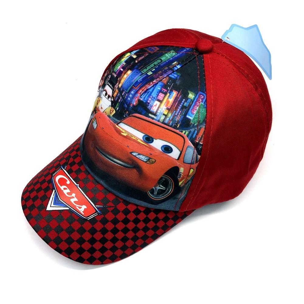 Кепка cars тачки mcqueen детская бейсболка панамка шапка