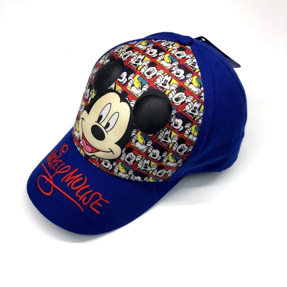Кепка 3d mickey mouse детская бейсболка панамка шапка головные уборы