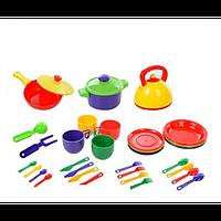 Детская посудка Юника 33 элемента. арт. 023