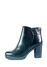 Ботинки демисезон женские Lonza X942-31L черная кожа (37)