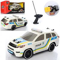 МАШИНА AS-2106 Авто Світ, р/у, аккумулятор, полиция, 1:16, 27 см, не бьющий корпус, свет, в коробке.