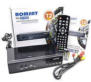 Цифровой эфирный Тюнер T2 ресивер приставка с функцией видеозаписи HDMI USB 2.0 Romsat TR-2018HD