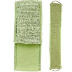 SPL мочалка для душа 7990 пояс зеленый массажный длинный