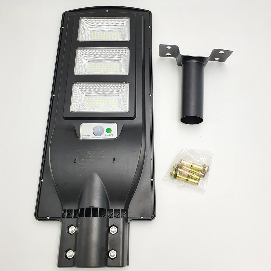 Светильник уличный на солнечной батарее с датчиком движения и аккумулятором 30000mAh LED Solar Street Light
