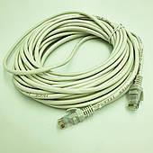 Патч корд высокоскоростной сетевой UTP LAN кабель для интернета до 1000Мбит/с Gigabit Ethernet 1 Гбит/с  10 м Белый