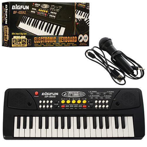 Детский синтезатор Пианино электронное с микрофоном  BIGFUN ELECTRONIC KEYBOARD BF-430A2