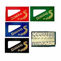 Домино M 0003 (60шт) в чехле, 17,5-10-1,5см