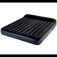 ВЕЛЮР МАТРАС 64144 размер 182-203-25 см, черный.