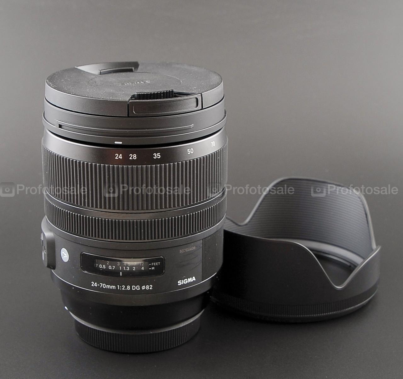 Sigma ART 24-70mm f2.8 DG (Canon)