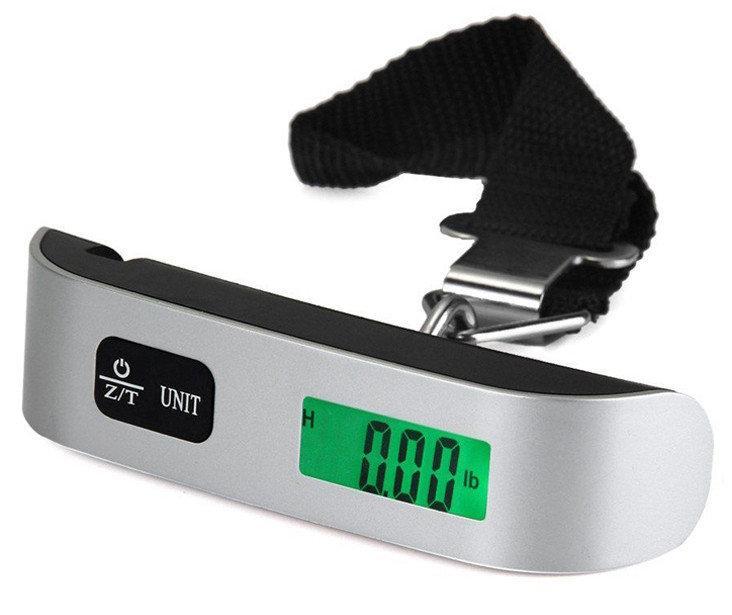 Весы электронные для багажа безмен кантер до 50 кг деление 10 гр S 004