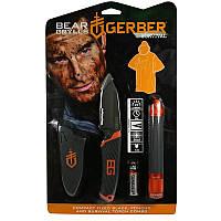 Набор Gerber Bear Grylls (фонарь, нож, пончо)