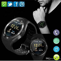 Умный гаджет Смарт-часы 4sport Smart Watch Y1 Black шагомер, счётчик калорий, мониторинг сна