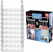 Чудо вешалка универсальная складная для економии места органайзер набор из 10 вешалок Wonder Hanger белый