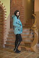 Куртка осенняя универсальная женская трансформер для беременных и нет