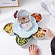 Вращающаяся тарелка для закусок фруктов и сладкого, Посуда, Менажница в виде цветка, фото 4