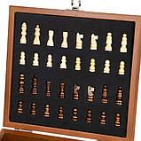 Набор подарочный Lefard шахматы+фляга Охотник 250 мл 18138-001, фото 3