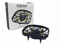 "РАСПРОДАЖА!!! Квадрокоптер мини ""Летающая тарелка"" ручной дрон UFO с Led подсветкой YL102"