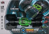 Машина перевертыш на радиоуправлении Dance Monster Car RQ-2028 2 цвета, фото 6
